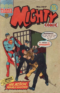 Cover Thumbnail for Mighty Comic (K. G. Murray, 1960 series) #107