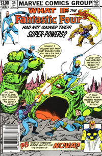 Cover Thumbnail for What If? (Marvel, 1977 series) #36 [Newsstand Edition]