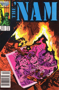 Cover Thumbnail for The 'Nam (Marvel, 1986 series) #3 [Newsstand]