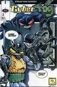 Cover Thumbnail for Cyberfrog (Hall of Heroes, 1994 series) #2
