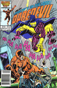 Cover Thumbnail for Daredevil (Marvel, 1964 series) #234 [Newsstand Edition]