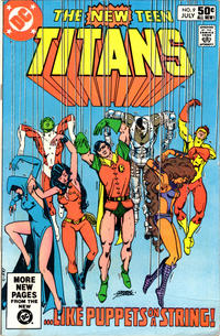 Cover Thumbnail for The New Teen Titans (DC, 1980 series) #9 [Direct]