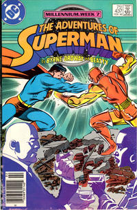 Cover Thumbnail for Adventures of Superman (DC, 1987 series) #437 [Newsstand edition]