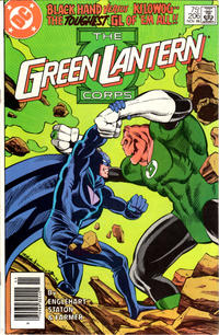 Cover Thumbnail for The Green Lantern Corps (DC, 1986 series) #206 [Newsstand Edition]