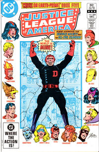 Cover Thumbnail for Justice League of America (DC, 1960 series) #209 [Direct Sales edition]