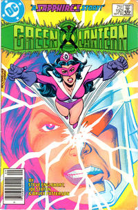 Cover for Green Lantern (DC, 1976 series) #192 [Newsstand Edition]