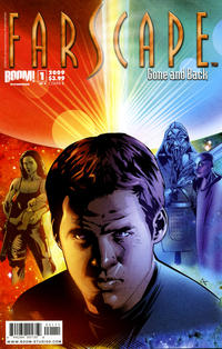 Cover for Farscape: Gone and Back (Boom! Studios, 2009 series) #1 [D&B Comics Exclusive]