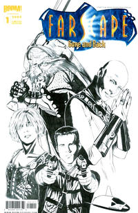 Cover Thumbnail for Farscape: Gone and Back (Boom! Studios, 2009 series) #1 [Cover C - Limited Edition]
