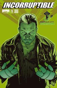 Cover Thumbnail for Incorruptible (Boom! Studios, 2009 series) #1 [Emerald City Comicon]