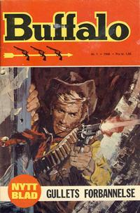 Cover Thumbnail for Buffalo (Romanforlaget, 1968 series) #1/1968
