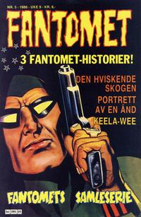 Cover Thumbnail for Fantomet (Semic, 1976 series) #5/1986