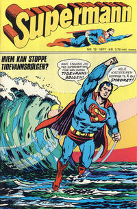 Cover for Supermann (Semic, 1977 series) #12/1977