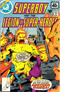 Cover Thumbnail for Superboy & the Legion of Super-Heroes (DC, 1977 series) #251 [Whitman]