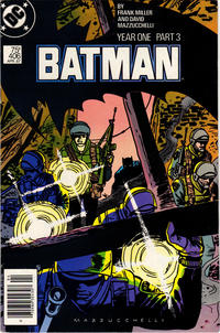 Cover Thumbnail for Batman (DC, 1940 series) #406 [Newsstand Edition]