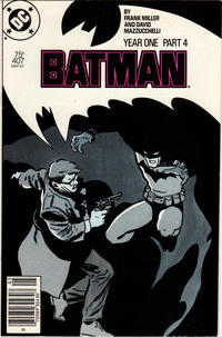 Cover Thumbnail for Batman (DC, 1940 series) #407 [Newsstand Edition]