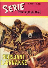 Cover Thumbnail for Seriemagasinet (Serieforlaget / Se-Bladene / Stabenfeldt, 1951 series) #7/1974