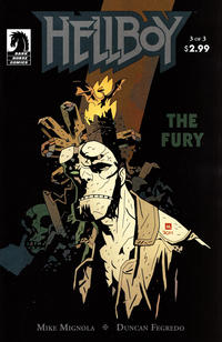 Cover Thumbnail for Hellboy: The Fury (Dark Horse, 2011 series) #3 [57]