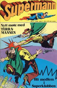 Cover Thumbnail for Supermann (Semic, 1977 series) #2/1978