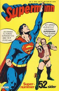 Cover Thumbnail for Supermann (Semic, 1977 series) #9/1978