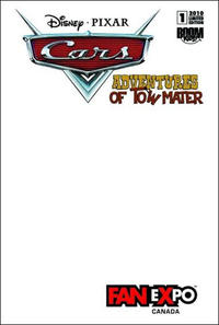 Cover Thumbnail for Cars: Adventures of Tow Mater (Boom! Studios, 2010 series) #1 [Fan Expo]