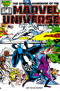 Cover Thumbnail for The Official Handbook of the Marvel Universe (Marvel, 1985 series) #12 [Direct]