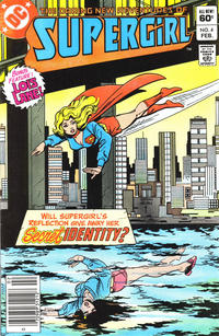 Cover Thumbnail for The Daring New Adventures of Supergirl (DC, 1982 series) #4 [Newsstand]