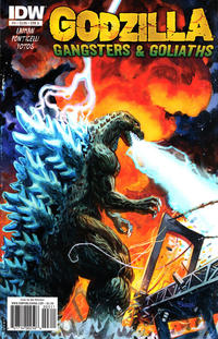 Cover Thumbnail for Godzilla: Gangsters and Goliaths (IDW, 2011 series) #3