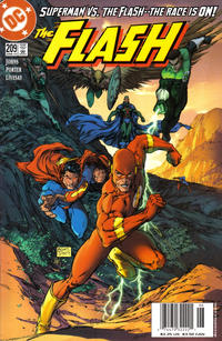 Cover Thumbnail for Flash (DC, 1987 series) #209 [Newsstand Edition]