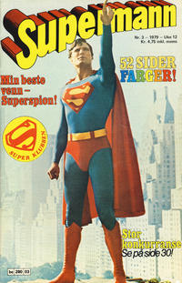Cover Thumbnail for Supermann (Semic, 1977 series) #3/1979