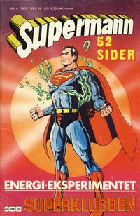 Cover Thumbnail for Supermann (Semic, 1977 series) #4/1979