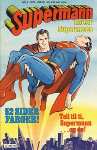 Cover for Supermann (Semic, 1977 series) #5/1979