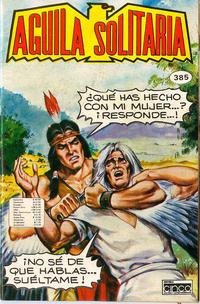 Cover Thumbnail for Aguila Solitaria (Editora Cinco, 1976 ? series) #385
