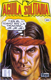 Cover Thumbnail for Aguila Solitaria (Editora Cinco, 1976 ? series) #398