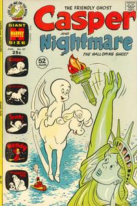 Cover Thumbnail for Casper & Nightmare (Harvey, 1964 series) #37