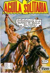 Cover Thumbnail for Aguila Solitaria (Editora Cinco, 1976 ? series) #314