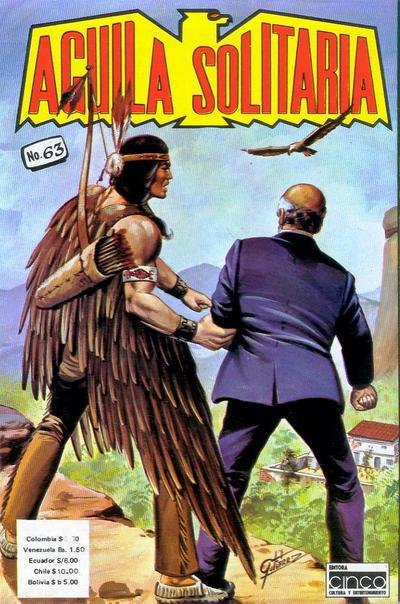 Cover for Aguila Solitaria (Editora Cinco, 1976 ? series) #63