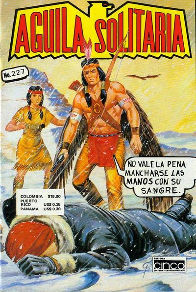 Cover for Aguila Solitaria (Editora Cinco, 1976 ? series) #227