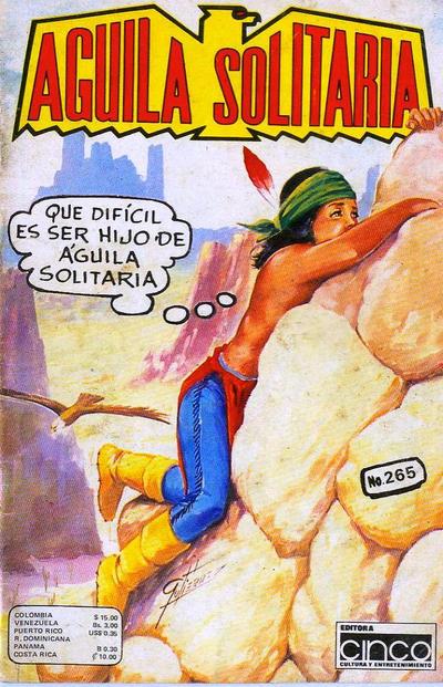 Cover for Aguila Solitaria (Editora Cinco, 1976 ? series) #265