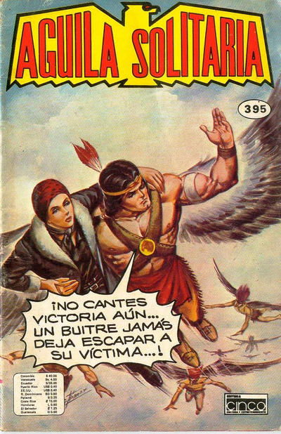Cover for Aguila Solitaria (Editora Cinco, 1976 ? series) #395