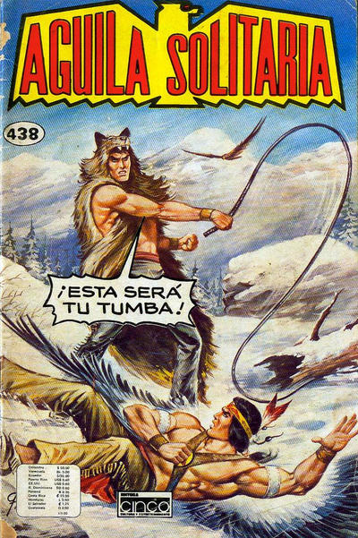 Cover for Aguila Solitaria (Editora Cinco, 1976 ? series) #438