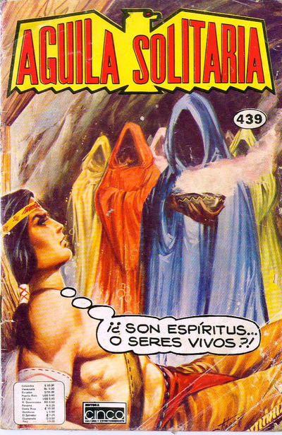 Cover for Aguila Solitaria (Editora Cinco, 1976 ? series) #439