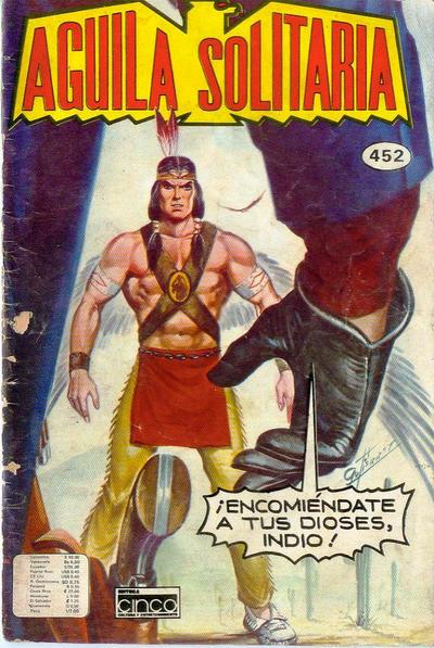 Cover for Aguila Solitaria (Editora Cinco, 1976 ? series) #452