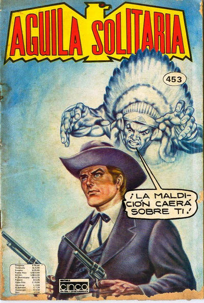 Cover for Aguila Solitaria (Editora Cinco, 1976 ? series) #453