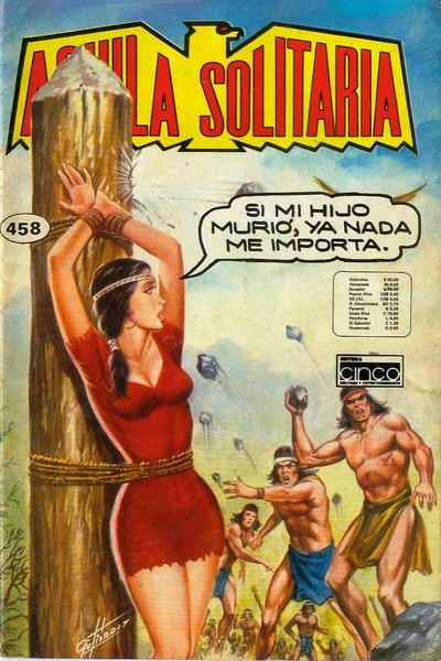 Cover for Aguila Solitaria (Editora Cinco, 1976 ? series) #458