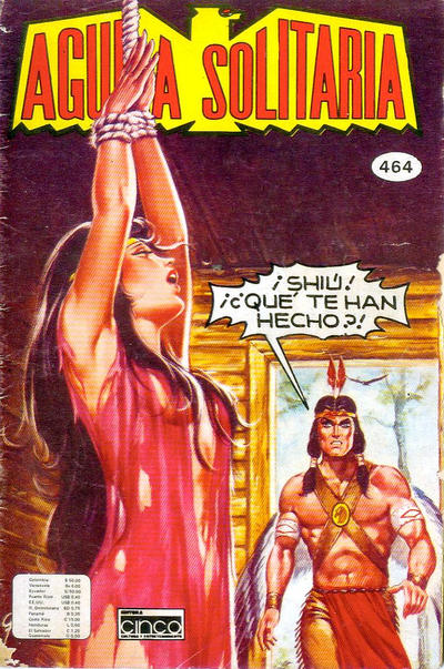 Cover for Aguila Solitaria (Editora Cinco, 1976 ? series) #464