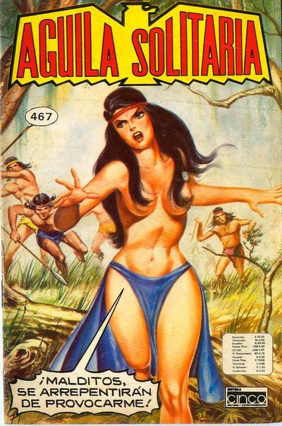 Cover for Aguila Solitaria (Editora Cinco, 1976 ? series) #467