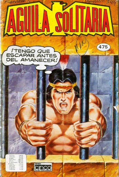 Cover for Aguila Solitaria (Editora Cinco, 1976 ? series) #475