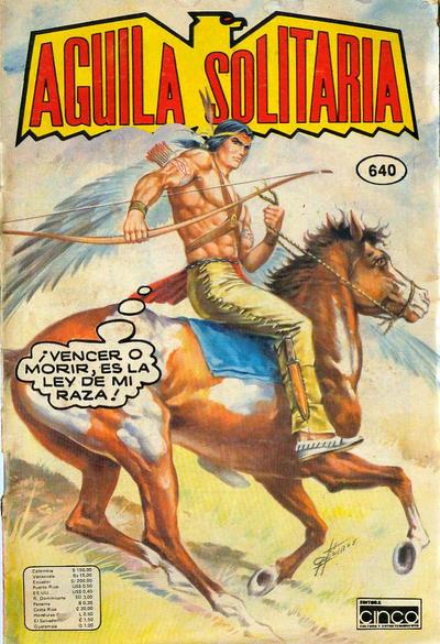 Cover for Aguila Solitaria (Editora Cinco, 1976 ? series) #640