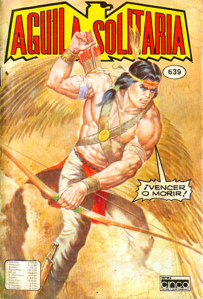 Cover for Aguila Solitaria (Editora Cinco, 1976 ? series) #639