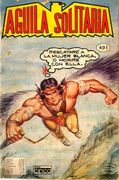 Cover for Aguila Solitaria (Editora Cinco, 1976 ? series) #491